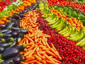 eating fruits and vegetables decreases heart failure
